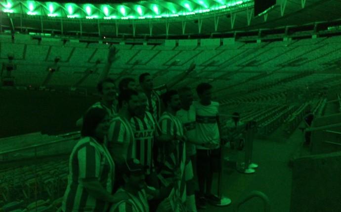 maracanã verde coritiba homenagem (Foto: André Pessoa)