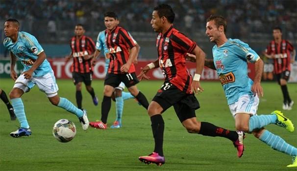 Atlético-PR Libertadores  (Foto: Gustavo Oliveira/ Site oficial do CAP)