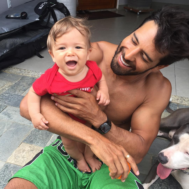 Aarão e Beto Malfacini (Foto: Reprodução/Instagram)