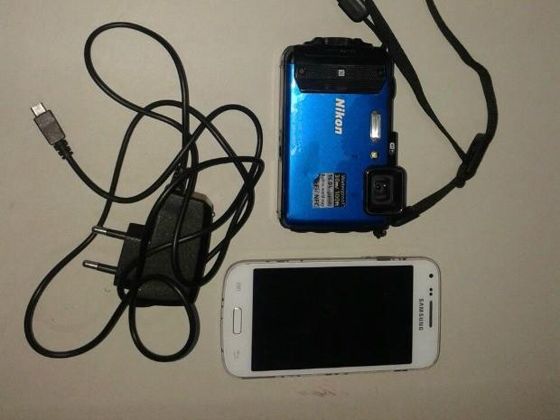 Suspeito tentava vender equipamentos roubados da turista (Foto: Polícia Civil/Divulgação)