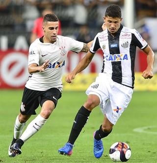 Corinthians x Santos - Gabriel e Yuri (Foto: Marcos Ribolli)