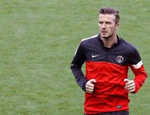 Beckham treino PSG (Foto: EFE)
