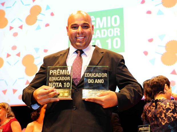 Diego Mahfouz Faria Lima é o educador nota 10 de 2015 (Foto: Fernando Gazinhato/ Divulgação)