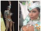 Cacau Colucci é destaque em desfile na Ilhabela, litoral paulista