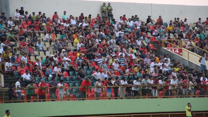 Torcida Arena da Floresta (Foto: Duaine Rodrigues)