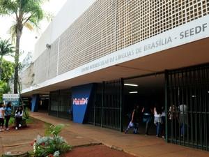 Centro de Línguas em Brasília (Foto: Tony Winston/Agência Brasília)