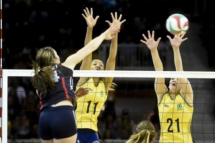 Brasil x Estados Unidos vôlei pan-americano 2015 (Foto: William Lucas/inovafoto)