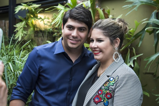 Yugnir Angelo e Marilia Mendonça (Foto: Caio Duran/Brazil News)