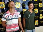 Dupla é presa com motocicleta roubada e arma em Rio Branco