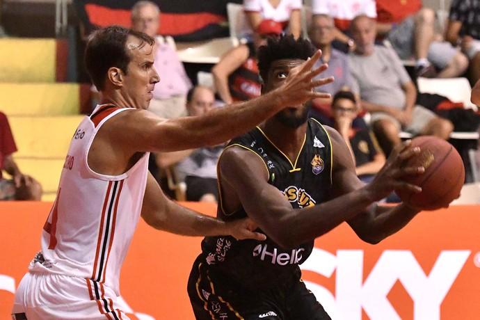 Flamengo x Mogi NBB Tijuca Tênis Clube (Foto: João Pires/LNB)