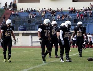 Santos Tsunami, uniforme preto (Foto: Karina Alves / Santos FC)