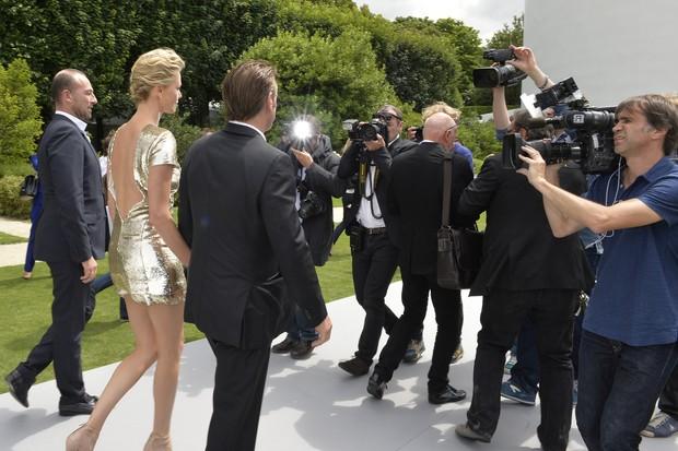 Sean Penn e Charlize Theron  (Foto: AFP)