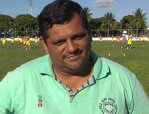 César Wellington, diretor de futebol do Santa Cruz (Foto: Reprodução / TV Cabo Branco)