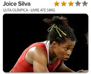 Info peso do ouro JOICE SILVA (Foto: infoesporte)