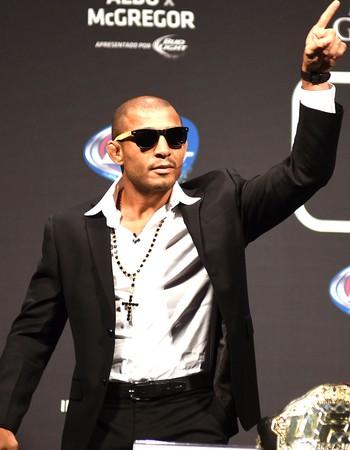 José Aldo, Coeltiva UFC 189 (Foto: André Durão)