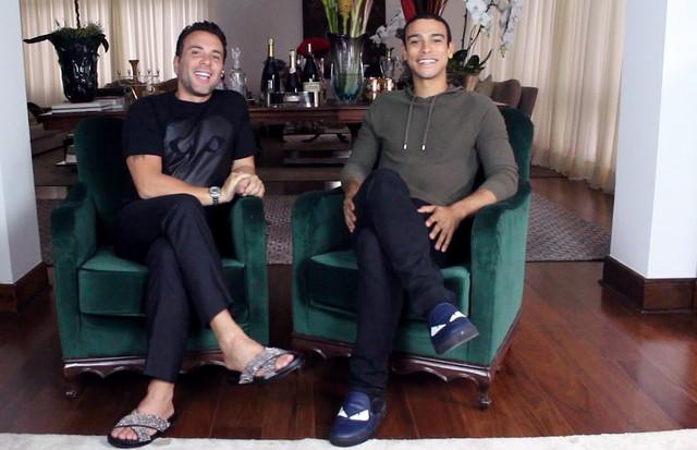 Matheus Mazzafera e Sérgio Malheiros (Foto: Divulgação)