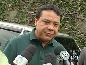 Adail Pinheiro, prefeito afastado de Coari (Foto: Foto: Reprodução/TV Amazonas)