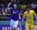 Falcão faz três gols, se aproxima de recorde, e Brasil atropela a Austrália