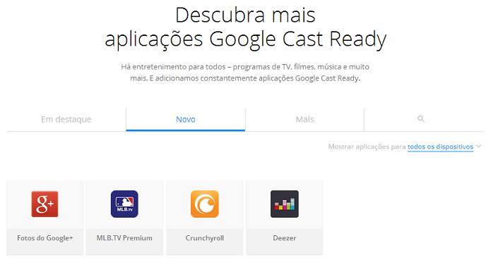 É possível ver aplicativos na web (Foto: Reprodução/Google)