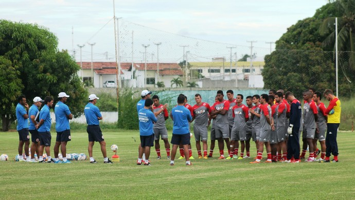 América-RN - treino - jogadores - CT (Foto: Canindé Pereira/Divulgação)