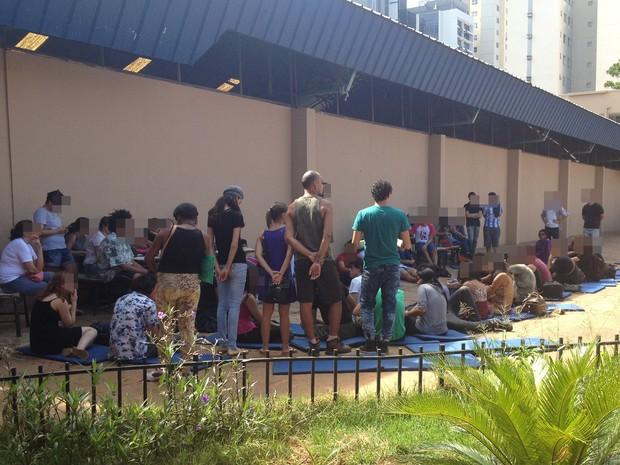 Alunos ocupam Colégio Lyceu de Goiânia, no Centro, por tempo indeterminado (Foto: Divulgação)