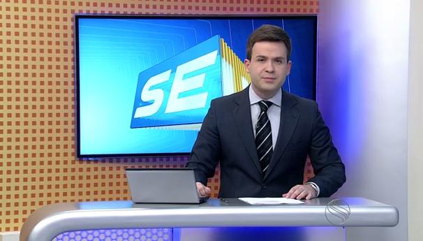 Lyderwan Santos apresenta o SETV 2ªEdição durante as férias de Susane Vidal (Foto: Divulgação / TV Sergipe)