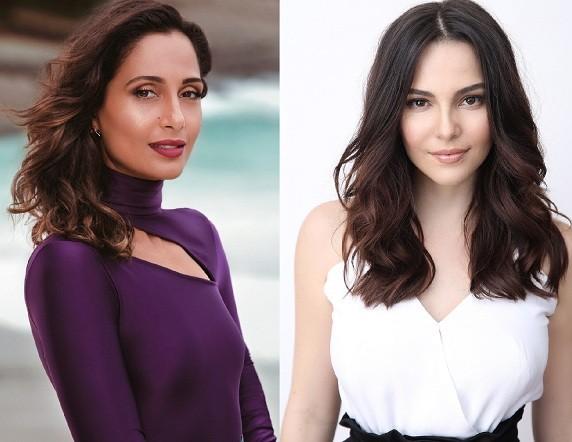 Camila Pitanga e Tainá Müller são as embaixadoras da campanha contra o câncer de mama deste ano  (Foto: Divulgação)
