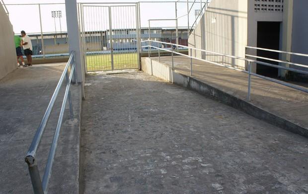 Estádio da Graça (Foto: Larissa Keren /Globoesporte.com/pb)