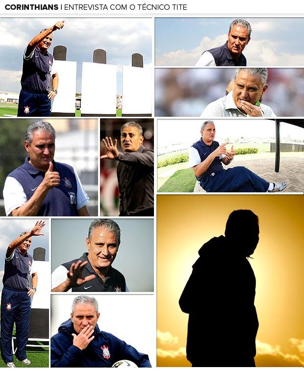 galeria Tite entrevista Corinthians  (Foto: Editoria de Arte / Globoesporte.com)