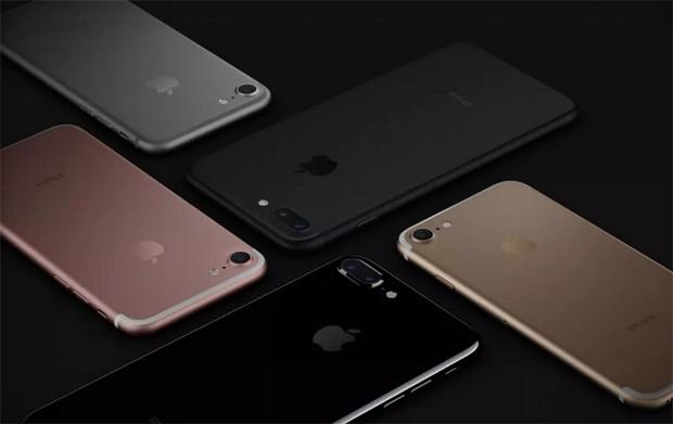 910ae67d044 iPhones 7 Plus (modelos pretos) e 7 (rosa