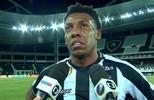 Moisés analisa empate do Botafogo com o Vitória