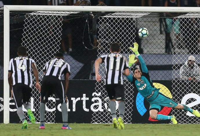 Gatito Fernandez  (Foto: Vitor Silva / SS Press / Botafogo)