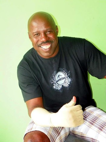 Reginaldo Holyfield, pugilista baiano (Foto: Reprodução/Facebook)