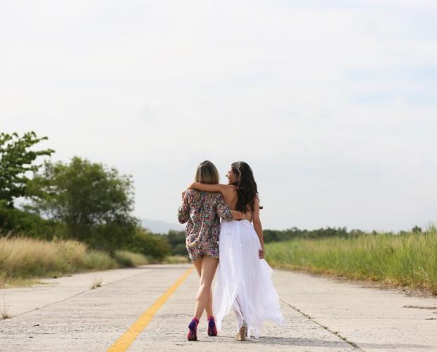 A relação entre as personagens de Bianca e Isis foi muito conturbada ao longo da trama (Foto: Isabella Pinheiro/Gshow)