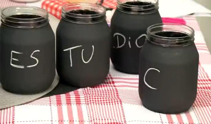 Tô sem  Grana pote quadro-negro (Foto: Reprodução/ RPC)