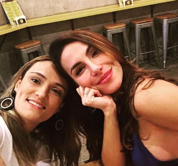 Mel Fronckowiak e cunhada, Flavia Santoro (Foto: Reprodução/Instagram)