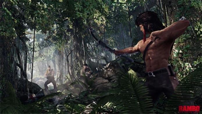 Rambo The Videogame (Foto: Divulgação) (Foto: Rambo The Videogame (Foto: Divulgação))