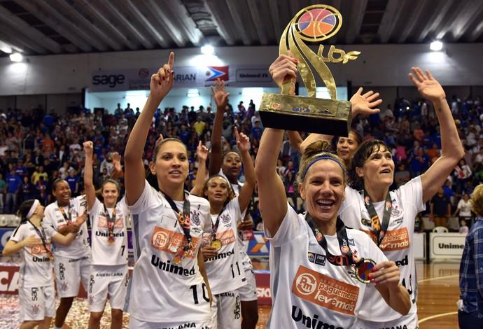 Corinthians x Uninassau LBF basquete final  (Foto: João Pires/LBF)