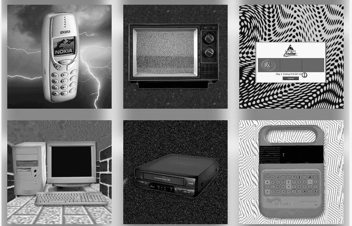 Quem não se lembra do 'Nokia Tijolão'? O celular também está no Museu do Som (Foto: Divulgação/MuseudoSom)