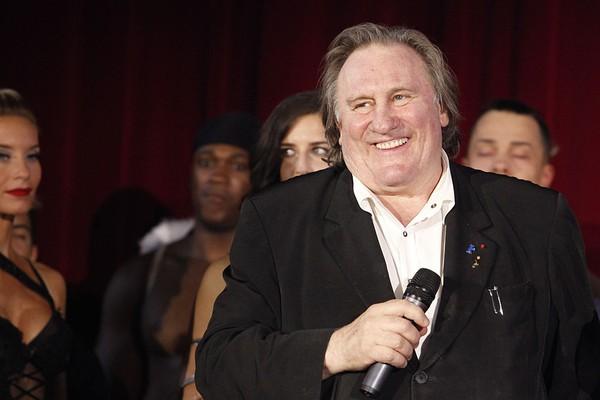 O astro francês Gérard Depardieu (Foto: Getty Images)