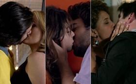 Reveja: confira os beijões que apimentaram capítulo de Geração Brasil