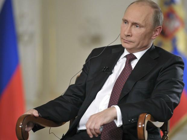 Putin diz em entrevista que aceita força na Síria se uso de arma química for provado (Foto: Reuters)