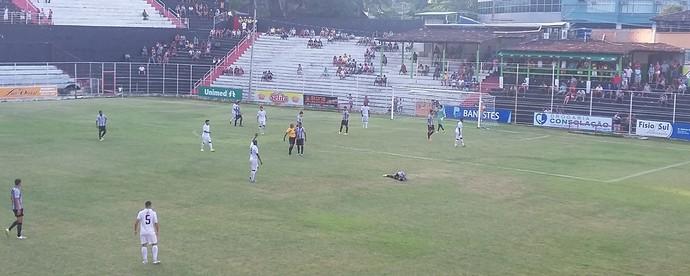 Estrela do Norte e Espírito Santo ficaram apenas no empate no Sumaré (Foto: Divulgação/Estrela do Norte)
