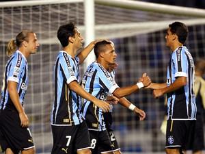 Grêmio passou bem pela fase de grupos, seguiu na Libertadores e caiu na semifinal (Foto: AFP)