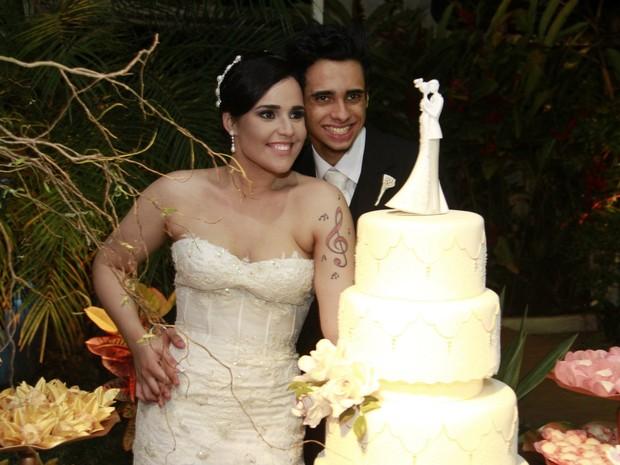 Casamento de Perlla (Foto: Isac Luz / EGO)