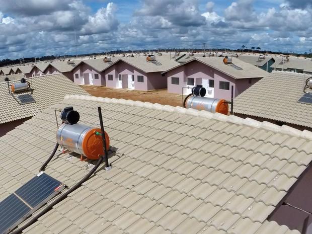 Primeiras casas da Cidade do Povo são entregues (Foto: Pedro Nascimento/Secom Acre)