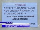 Paralisação em dez creches deixa 1,2 mil sem aula em São José