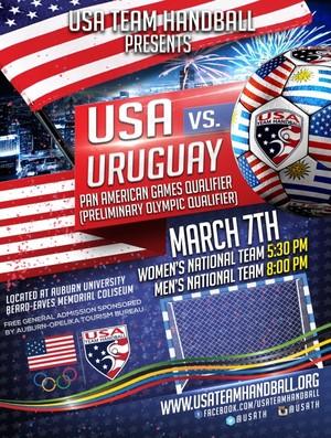 Handebol Uruguai X Estados Unidos