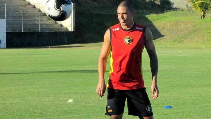 RN - Luizão, atacante do Globo FC (Foto: Rhuan Carlos/Divulgação)