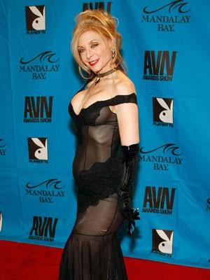 A atriz pornô Nina Hartley (Foto: Ethan Miller/AFP)